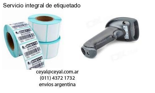 Servicio integral de etiquetado