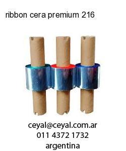 ribbon cera premium 216