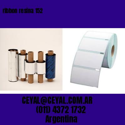 ribbon resina 152