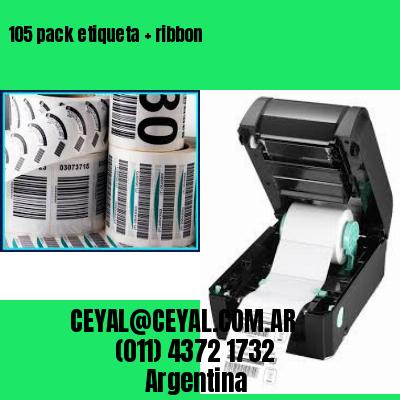 105 pack etiqueta   ribbon