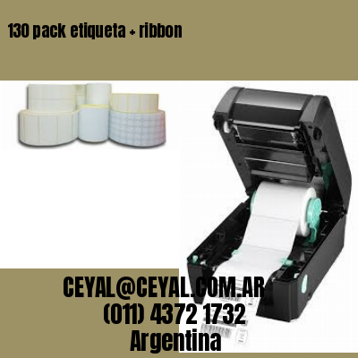 130 pack etiqueta   ribbon