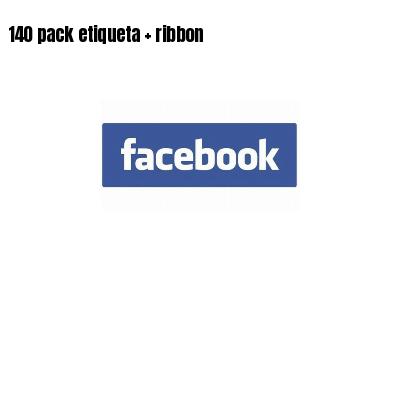 140 pack etiqueta   ribbon