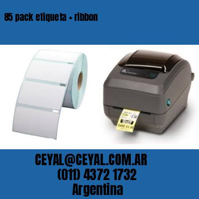 85 pack etiqueta   ribbon