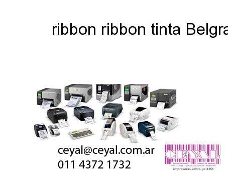 ribbon ribbon tinta Belgrano