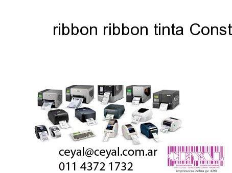 ribbon ribbon tinta Constitucion