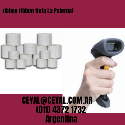 ribbon ribbon tinta La Paternal