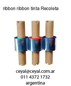 ribbon ribbon tinta Recoleta
