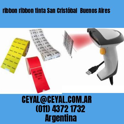 ribbon ribbon tinta San Cristóbal  Buenos Aires