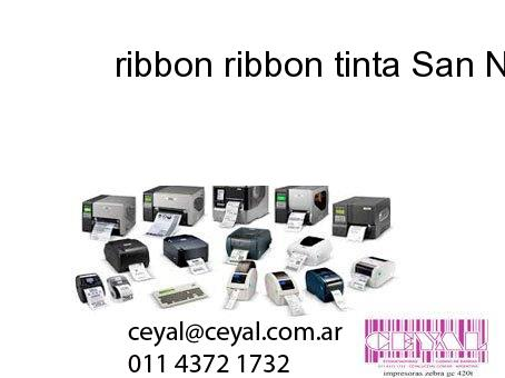ribbon ribbon tinta San Nicolás