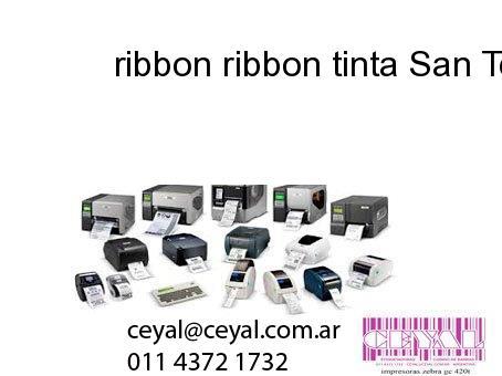 ribbon ribbon tinta San Telmo