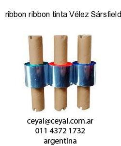 ribbon ribbon tinta Vélez Sársfield