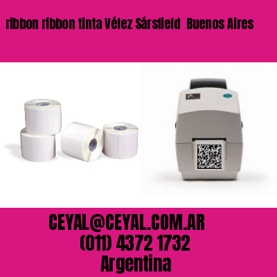 ribbon ribbon tinta Vélez Sársfield  Buenos Aires
