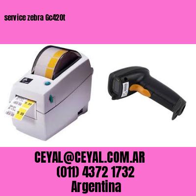 service zebra Gc420t