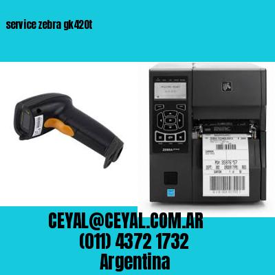 service zebra gk420t