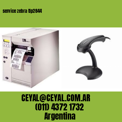 service zebra tlp2844