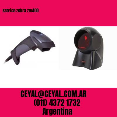 service zebra zm400