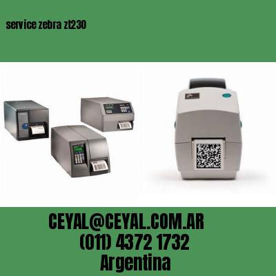 service zebra zt230