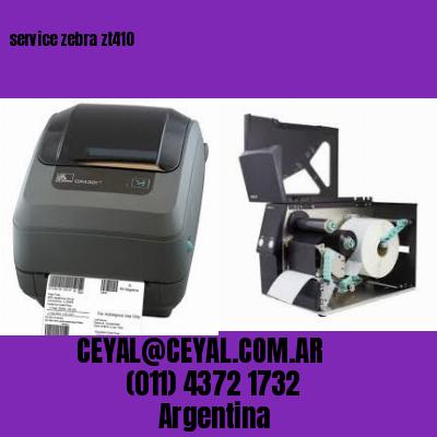 service zebra zt410