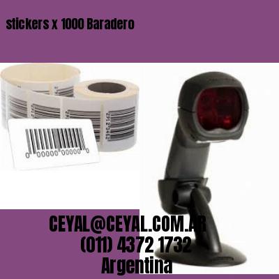 stickers x 1000 Baradero