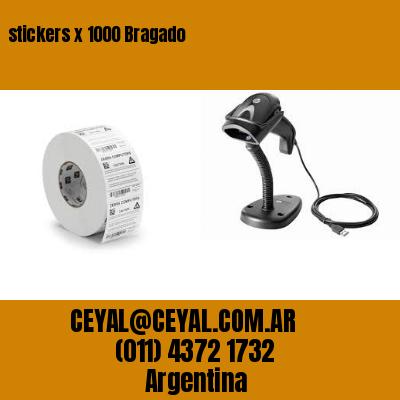 stickers x 1000 Bragado