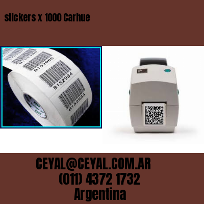 stickers x 1000 Carhue