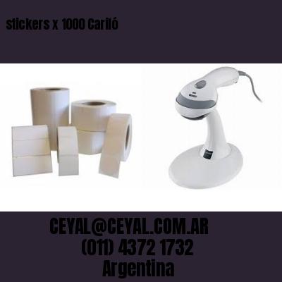 stickers x 1000 Cariló