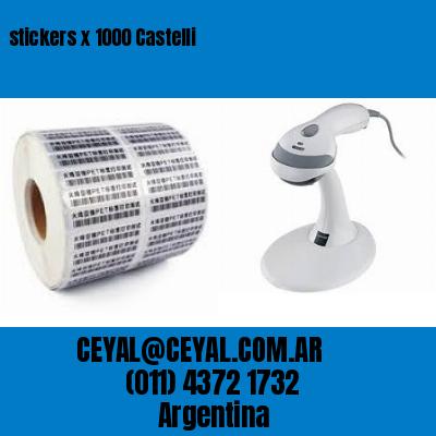 stickers x 1000 Castelli
