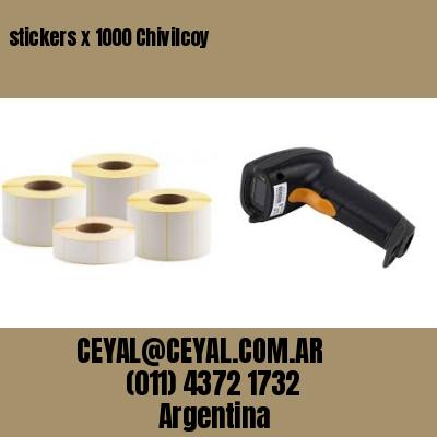 stickers x 1000 Chivilcoy