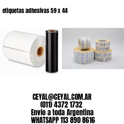 etiquetas adhesivas 59 x 44