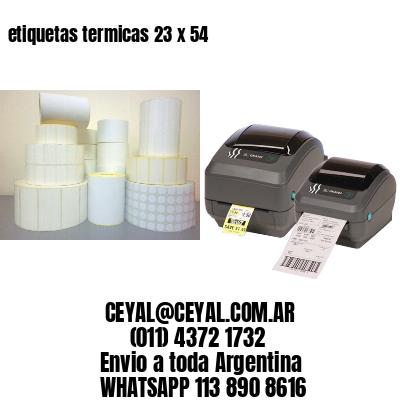 etiquetas termicas 23 x 54