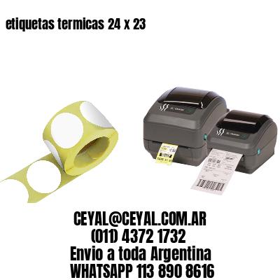 etiquetas termicas 24 x 23