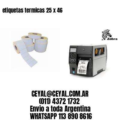 etiquetas termicas 25 x 46