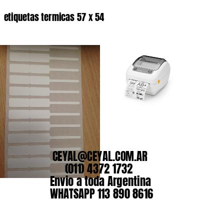 etiquetas termicas 57 x 54