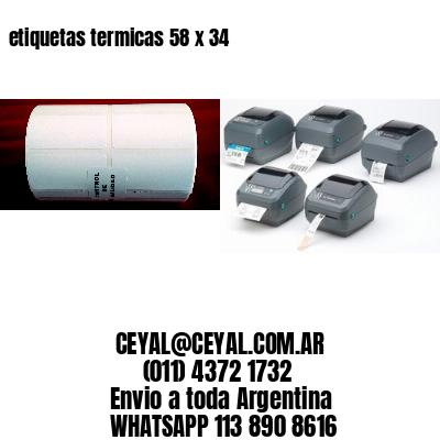 etiquetas termicas 58 x 34