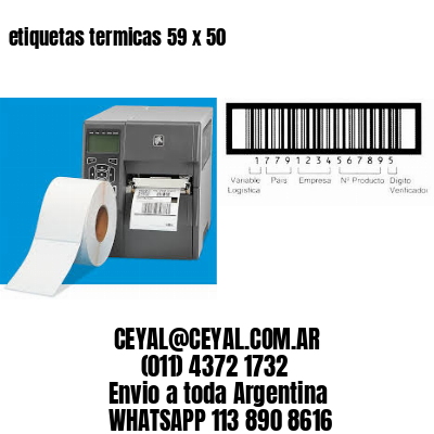 etiquetas termicas 59 x 50