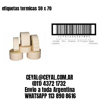 etiquetas termicas 59 x 70