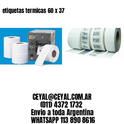 etiquetas termicas 60 x 37