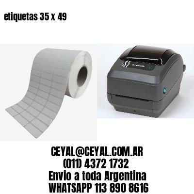 etiquetas 35 x 49