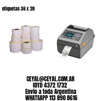 etiquetas 36 x 20