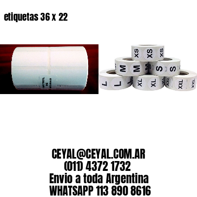 etiquetas 36 x 22