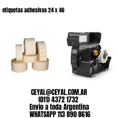 etiquetas adhesivas 24 x 46