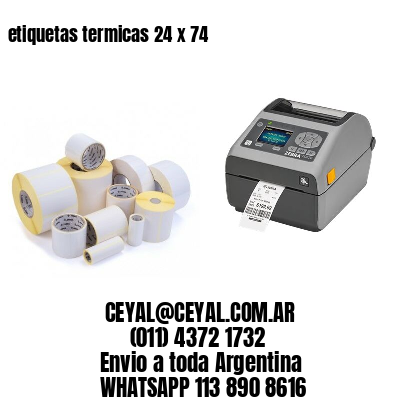 etiquetas termicas 24 x 74