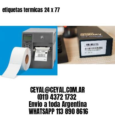 etiquetas termicas 24 x 77