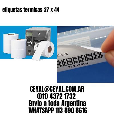etiquetas termicas 27 x 44