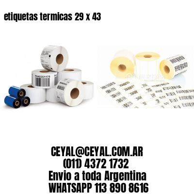 etiquetas termicas 29 x 43
