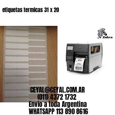 etiquetas termicas 31 x 20