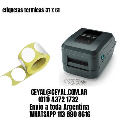 etiquetas termicas 31 x 61