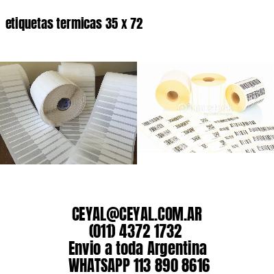 etiquetas termicas 35 x 72
