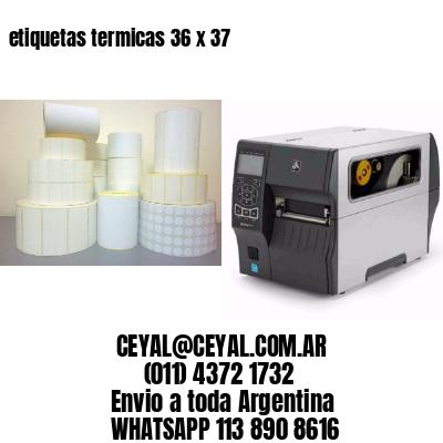 etiquetas termicas 36 x 37