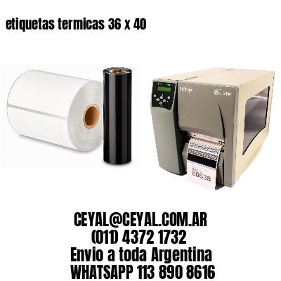 etiquetas termicas 36 x 40
